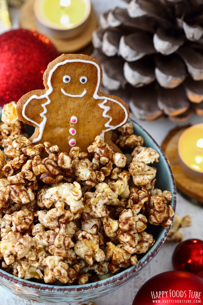 Gingerbread Popcorn Photo