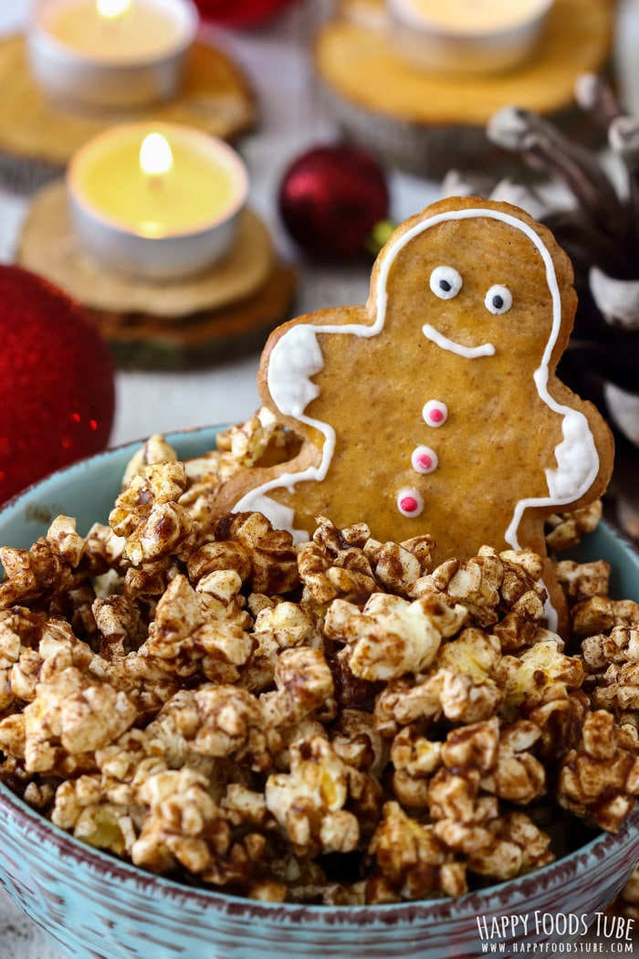 Gingerbread Popcorn Pic