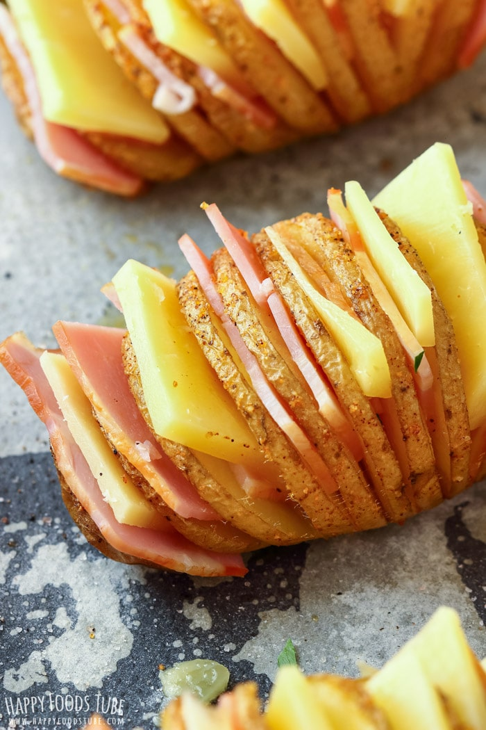 How to make Loaded Hasselback Potatoes Picture