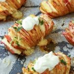 Loaded Hasselback Potatoes Image