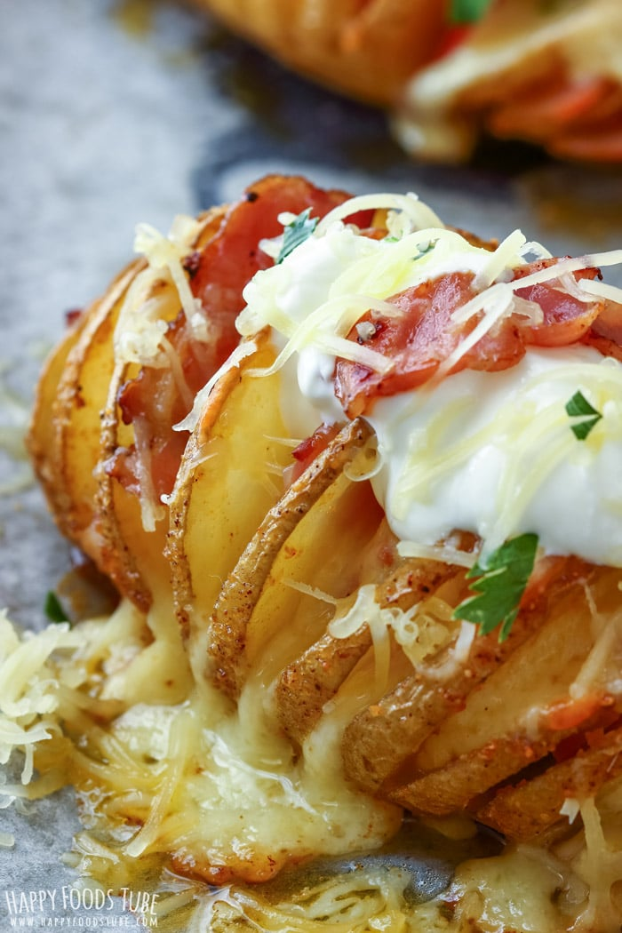 Loaded Hasselback Potatoes Pic