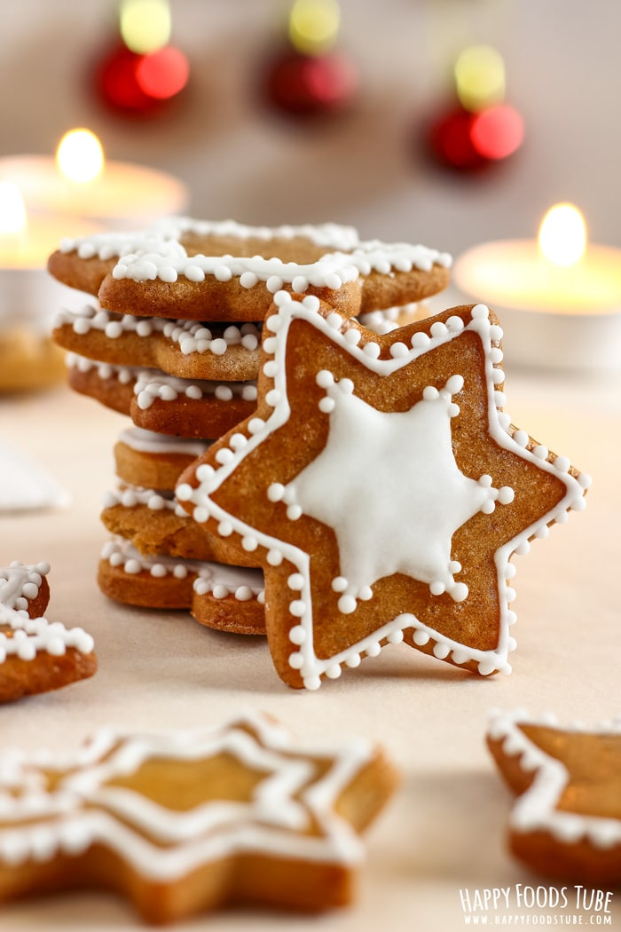 Simple Gingerbread Cookies Photo