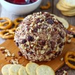 Cranberry Bacon Cheese Ball Image