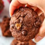 Double Chocolate Chip Banana Muffins Image