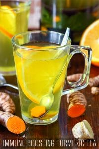 Healthy Immune Boosting Turmeric Tea Recipe
