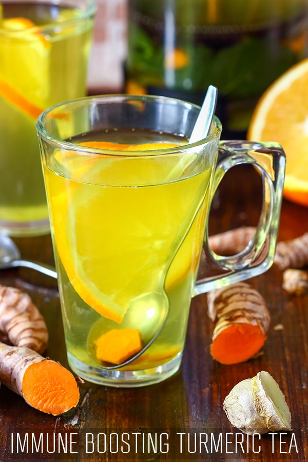Healthy Immune Boosting Turmeric Tea Recipe
