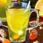 Immune Boosting Turmeric Tea Image