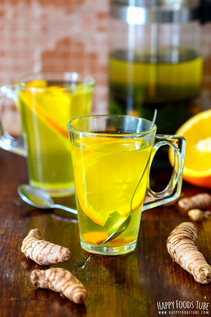Immune Boosting Turmeric Tea Photo