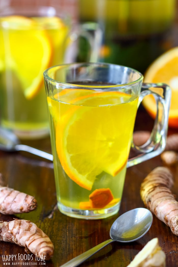 Immune Boosting Turmeric Tea Happy Foods Tube
