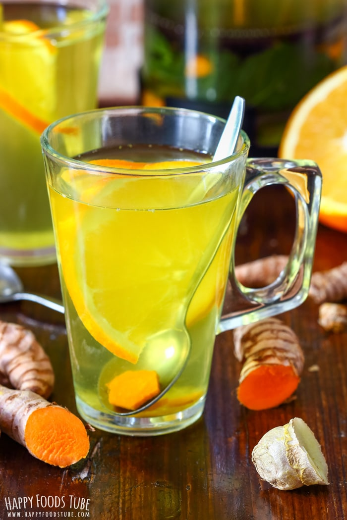 Immune Boosting Turmeric Tea - Happy Foods Tube