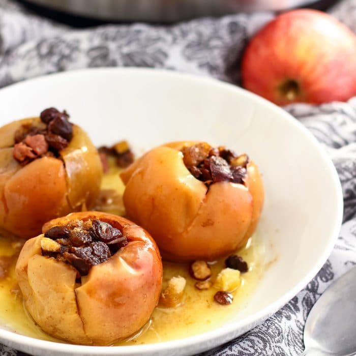 Instant Pot Baked Apples Image
