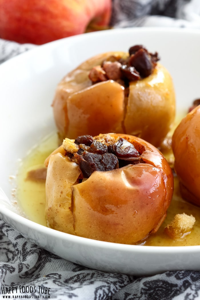 Instant Pot Baked Apples Photo