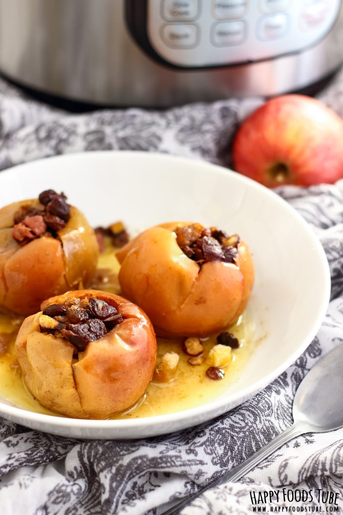 Instant Pot Baked Apples Picture