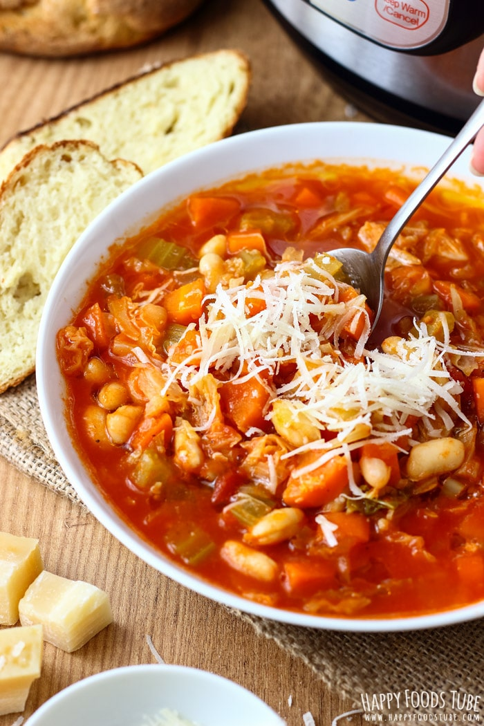 Instant Pot Minestrone Soup Pic