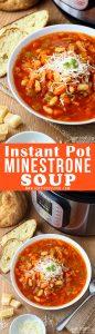 Instant Pot Minestrone Soup Recipe Picture