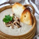 Roasted Mushroom Soup Image
