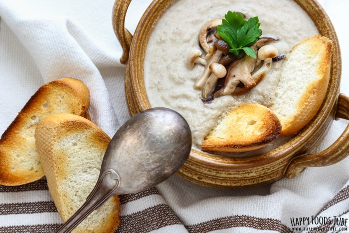 Roasted Mushroom Soup Photo