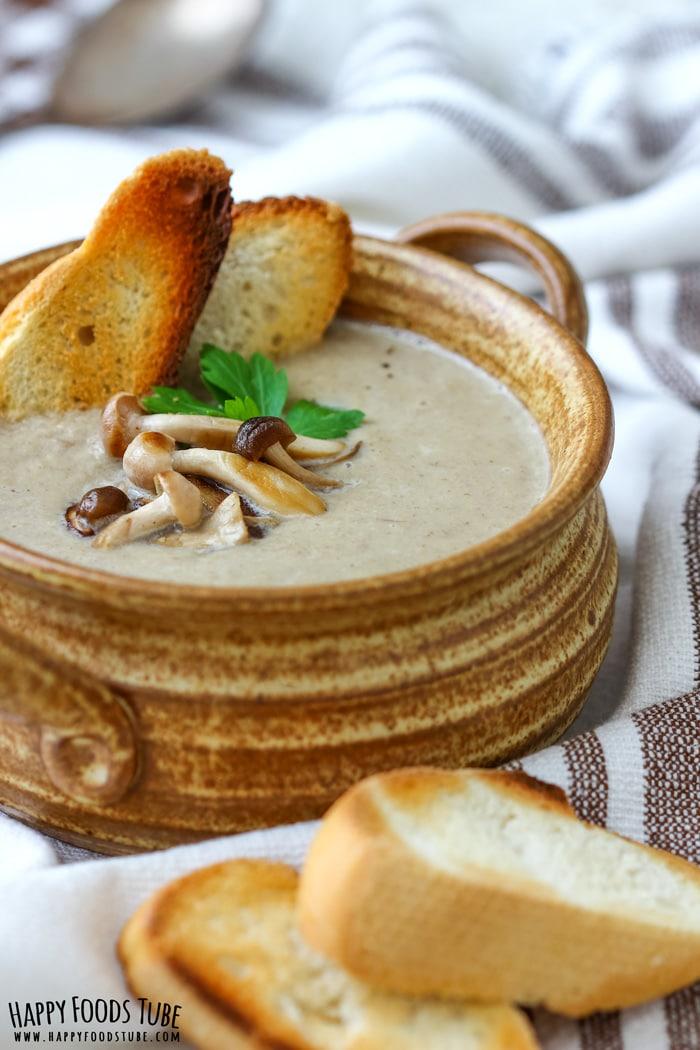 Roasted Mushroom Soup Pic