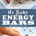 No Bake Energy Bars Recipe Picture