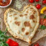 Heart Shaped Pizza Pocket
