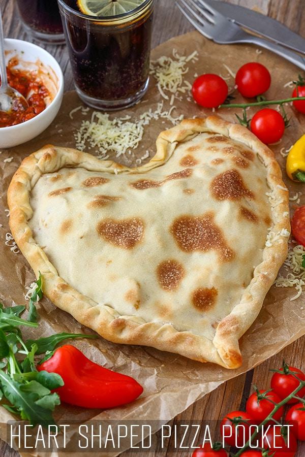 Heart Shaped Pizza Pocket Recipe