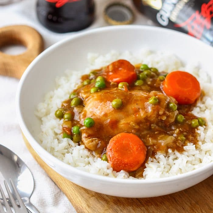 Instant Pot Guinness Chicken Thighs