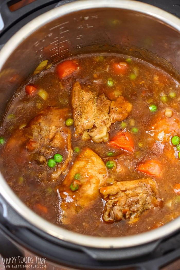 Instant Pot Pressure Cooker Guinness Chicken Thighs