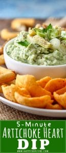 Artichoke Heart Dip Pinterest Picture