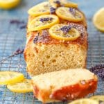 Homemade Easy Lemon Lavender Loaf