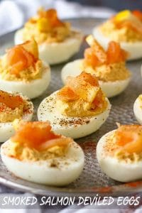 Easy Smoked Salmon Deviled Eggs Recipe