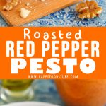 Roasted Red Pepper Pesto Picture Collage