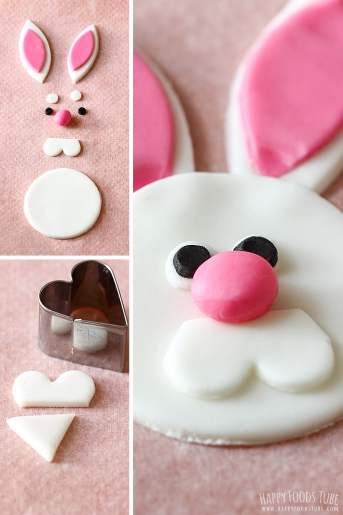 How to make Easter Bunny Cupcake Toppers