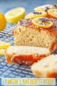 Easy Lemmon Lavender Loaf Recipe
