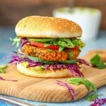 Sweet Potato Buckwheat Burgers