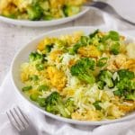 Chicken Broccoli Fried Rice