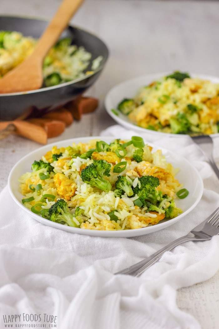 Chicken Broccoli Fried Rice easy meal idea