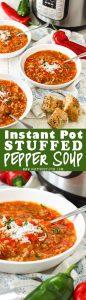 Easy Instant Pot Stuffed Pepper Soup Recipe