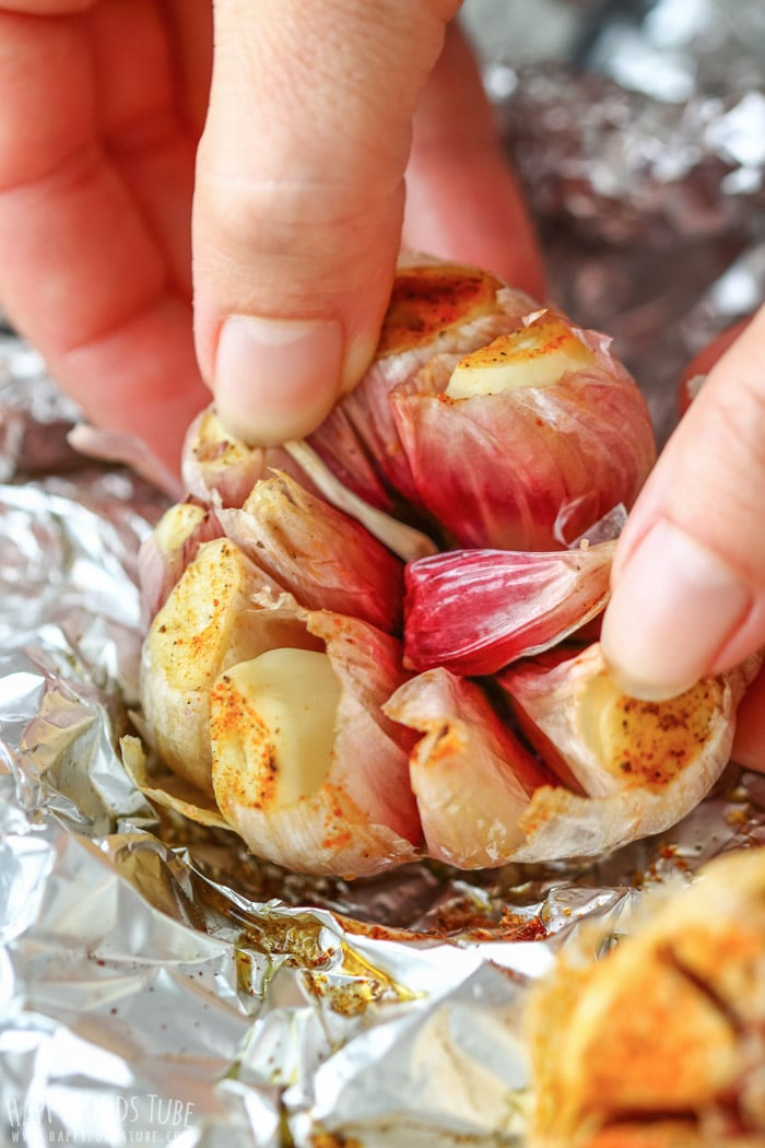 Oven Roasted Garlic Bulb