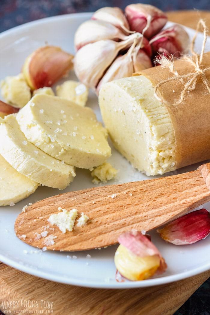 Homemade Roasted Garlic Butter