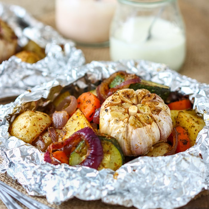 Vegetable Foil Packets Happy Foods Tube