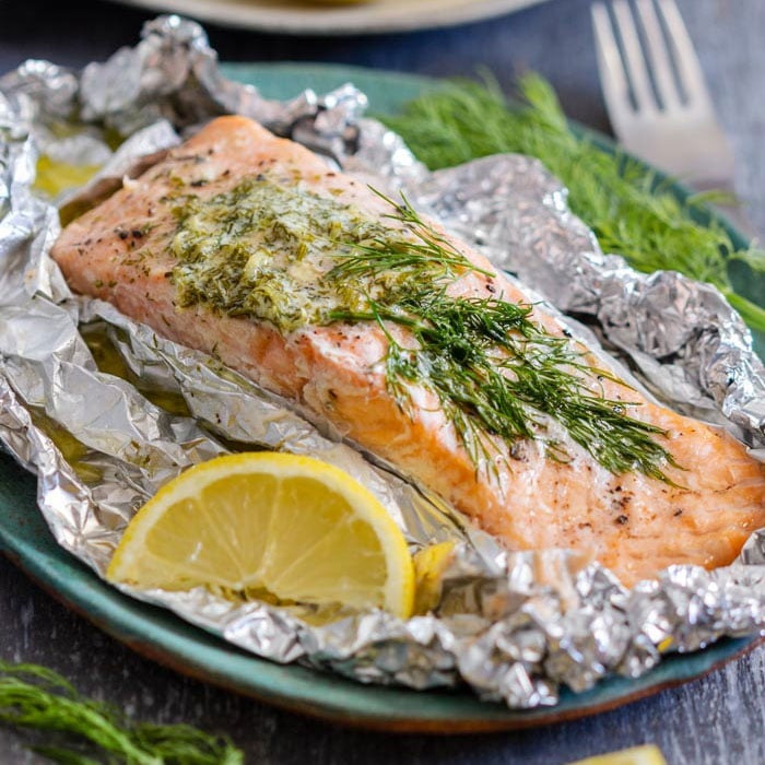 Best Grilled Salmon Foil Packet