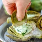 Easy Instant Pot Artichokes with Jalapeno Dip Recipe