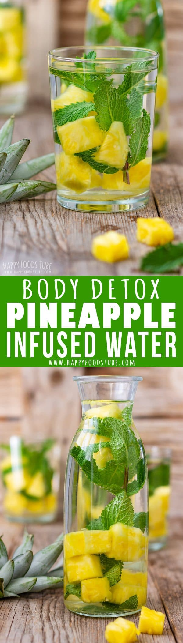 Pineapple Infused Water Recipe