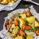 Cabbage and Sausage Foil Packets Recipe