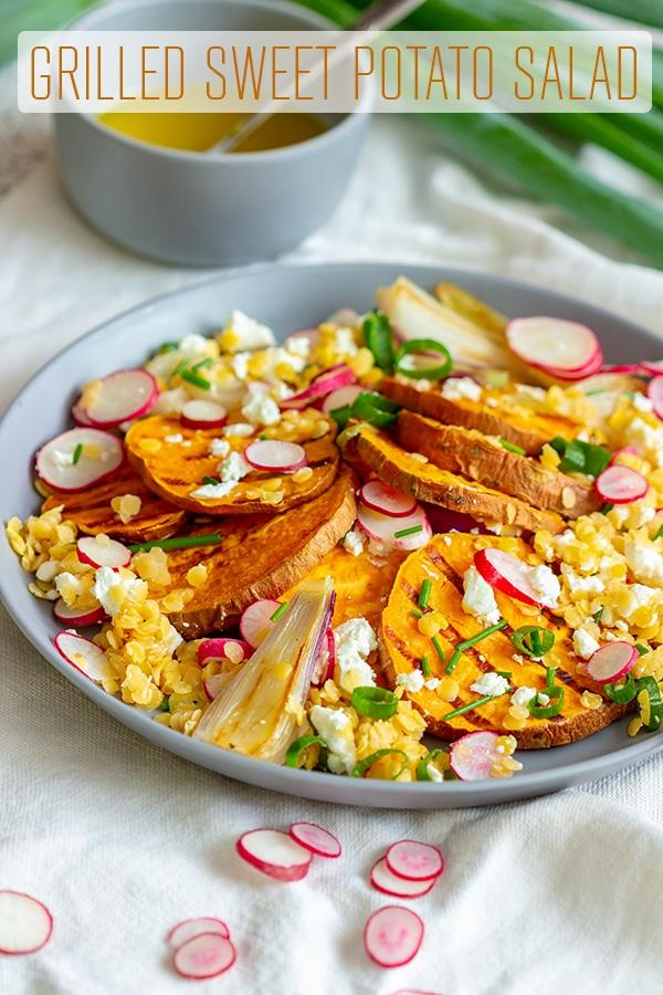 Grilled Sweet Potato Salad Recipe