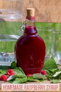 Homemade Raspberry Syrup Recipe