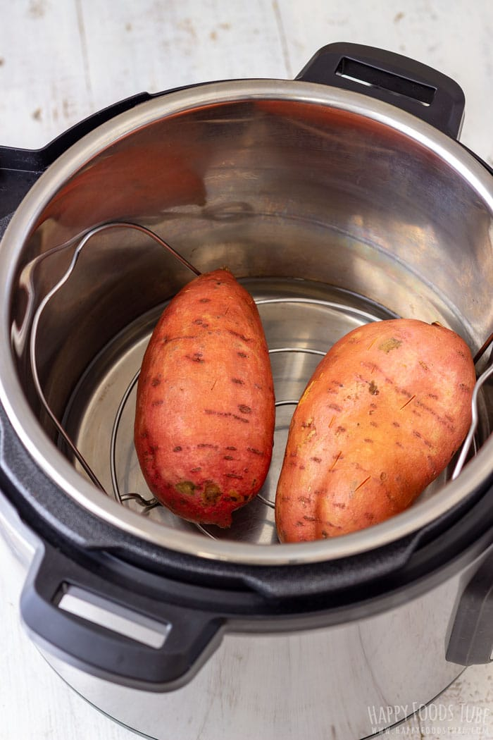 Sweet potatoes in the Instant Pot pressure cooker