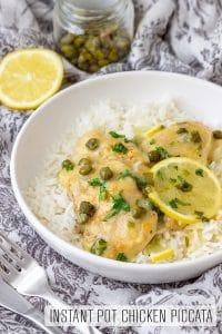 Instant Pot Chicken Piccata Recipe