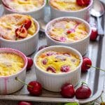 Homemade Mini Cherry Clafoutis