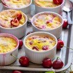 Mini Cherry Clafoutis Recipe